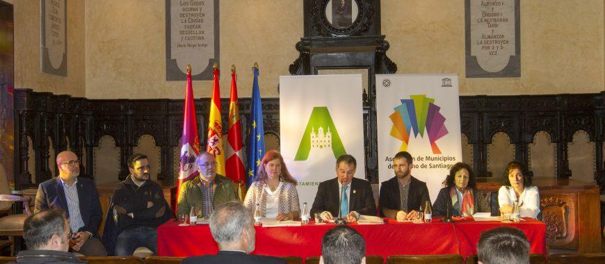 El desarrollo del Camino de Santiago conecta a municipios y empresas leonesas